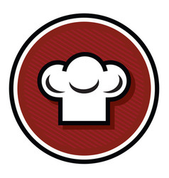 chef hat vector image