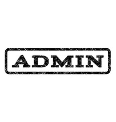 Admin watermark stamp vector
