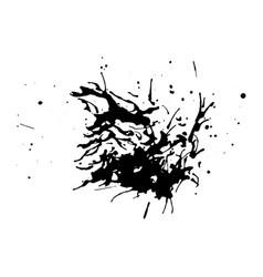 black dirty design element vector image