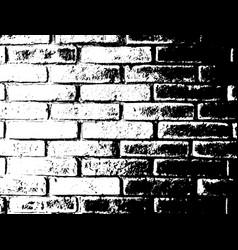 brick wall texture distress overlay effect vector image