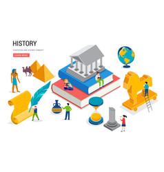 history class school college lesson vector image