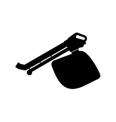 Leaf blower icon vector
