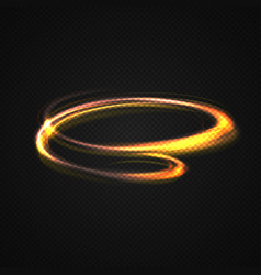 neon blurry circles at motion vector image
