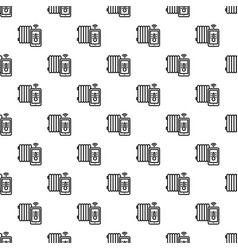 Smart thermal house pattern seamless vector