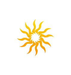 sun dance vector image