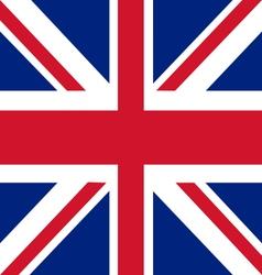 Union jack the united kingdom flag vector