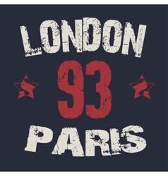 Capital paris london vector