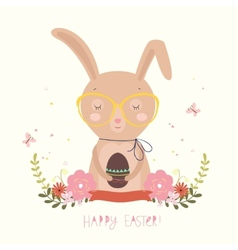 Easter Day background or card vector image vector image