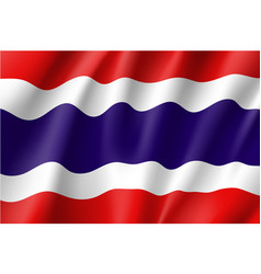 National flag kingdom thailand vector