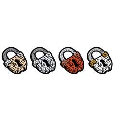 Old lock vector