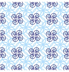 seamless loght blue pattern vector image vector image