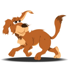 Street Dog vector image