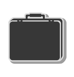 Suitcase travel luggage business design vector
