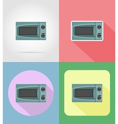 household appliances for kitchen 16 vector image vector image