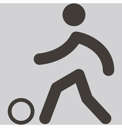 2280 Football icon vector image