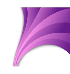 Abstract violet wave flow vector