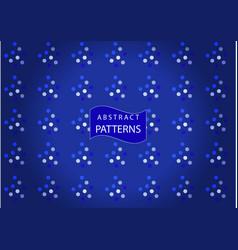 Amazing unique patterns vector