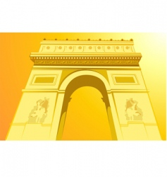 Champs Elysees vector image