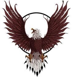 eagle logo image vector image