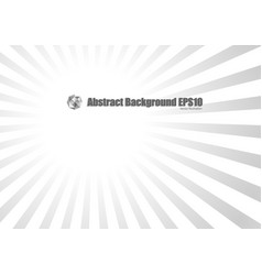 gray radial background vector image