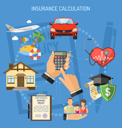 Insurance services calculation vector
