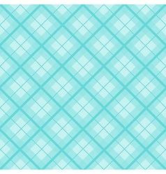 Mint tartan diamond background vector