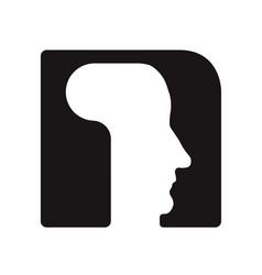 N n logo logotype - english font upper case letter vector