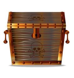 pirates treasure chest vector image