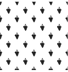 southerly burger pattern seamless vector image