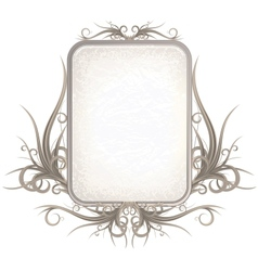 Vintage Gothic Frame with Free Space for Your Text vector