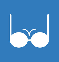 icon on background sexy women brassiere vector image