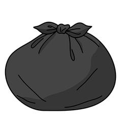 trash bags vector image