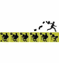 office man vector image vector image