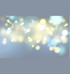 shining light stars particles energy in vector image vector image