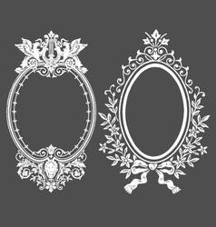 VINTAGE FLORAL DECORATIVE DESIGN ELEMENTS vector image