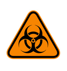 Biohazard sign danger sign the pandemic disease vector