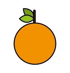 delicious fresh fruit icon vector image