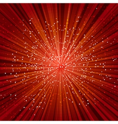 red explosion vector image
