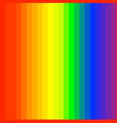 Rgb rainbow spectrum colored stripes lines vector