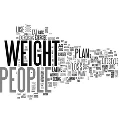 Where people and diets go wrong text word cloud vector