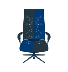 chair seat armchair vector image