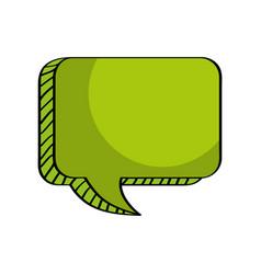 message talk box empty vector image
