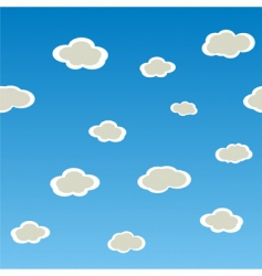 texture with clouds vector image vector image