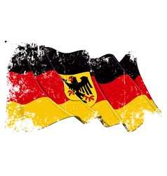 Germany State Flag Grunge vector image vector image