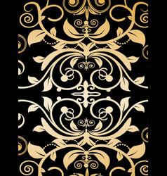 vintage pattern vector image