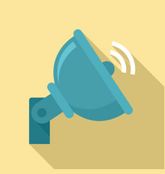 5g antenna icon flat style vector image