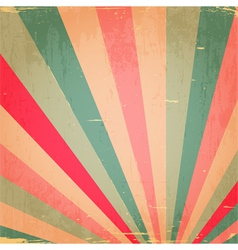 Abstract colorful grunge rays background vector