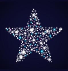 Abstract star tonight vector