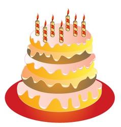 Brithday Cake vector