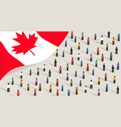 Canadian independence anniversary celebration and vector